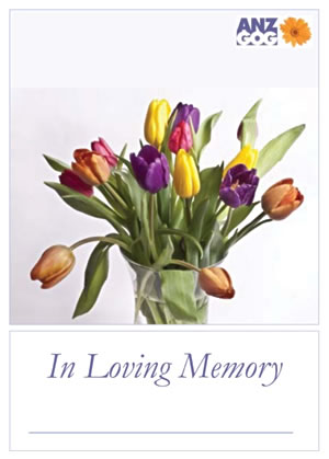 In loving memory flowers