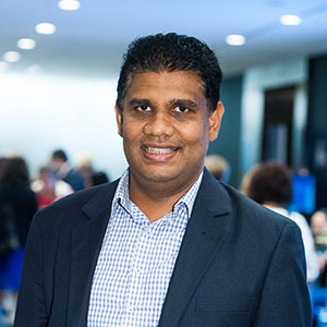 Dr Mahesh Iddawela, leader of the Gippsland Cancer Survivorship Program.