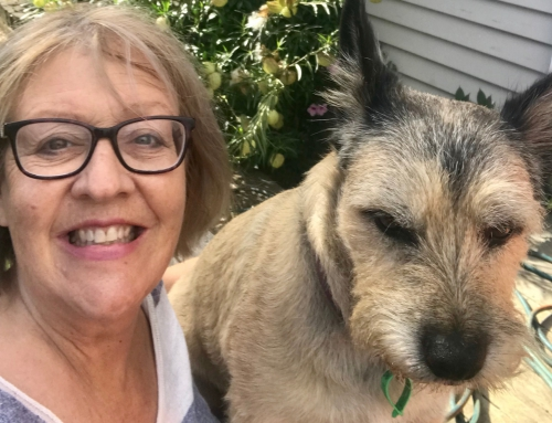 Consumer Research Panelist and cancer survivor Lisa Finucane celebrates her ten-year survival milestone